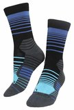 Stripes Ocean Socks _