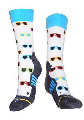 Glasses hiking socks