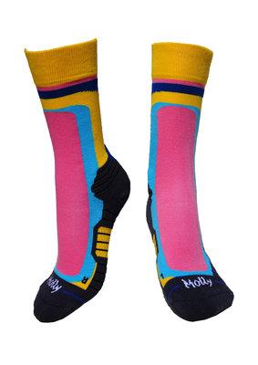 Retro stripes socks