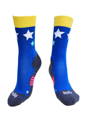 Stars hiking socks