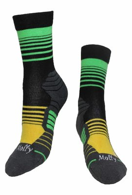 Stripes Brazil Socks