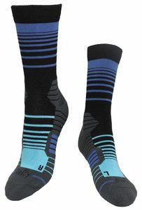 Stripes Ocean Socks